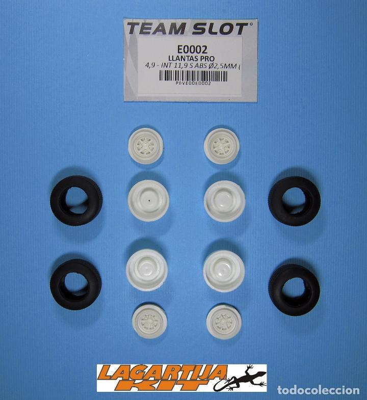 "Scalextric: 1/32 TEAM SLOT GOTTI 5T - 4 LLANTAS PRO 13"" + 4 NEUMATICOS 18 X 8 MM - GORDINI ALPINE - Foto 3 - 135256394"