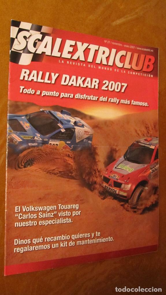 SCALEXTRIC ORIGINAL: REVISTA SCALEXTRICLUB Nº 27 NOVIEMBRE ENERO 2007 (Juguetes - Slot Cars - Scalextric Pistas y Accesorios)