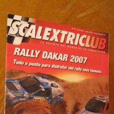 Scalextric: SCALEXTRIC ORIGINAL: REVISTA SCALEXTRICLUB Nº 27 NOVIEMBRE ENERO 2007. Lote 210727690