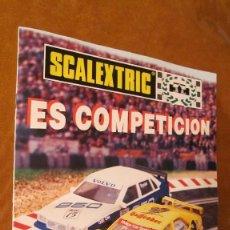 Scalextric: SCALEXTRIC ORIGINAL: REVISTA SCALEXTRIC ES COMPETICION TYCO ...............FOTO AUDI VERDE. Lote 210727974