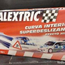Scalextric: CURVA INTERIOR SUPERDESLIZANTE EFECTO HIELO-NUEVO A ESTRENAR- TECNITOYS. Lote 211421591