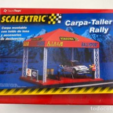 Scalextric: CARPA-TALLER RALLY DE SCALEXTRIC. Lote 211790357