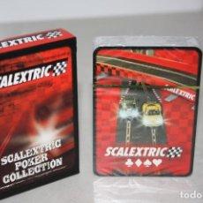 Scalextric: A ESTRENAR JUEGOS DE NAIPES DEL CLUB SCALEXTRIC.. Lote 212287002