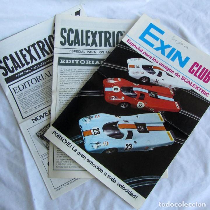 3 REVISTAS SCALEXTRIC CLUB Nº 4 - 5 - 6 (Juguetes - Slot Cars - Scalextric Pistas y Accesorios)