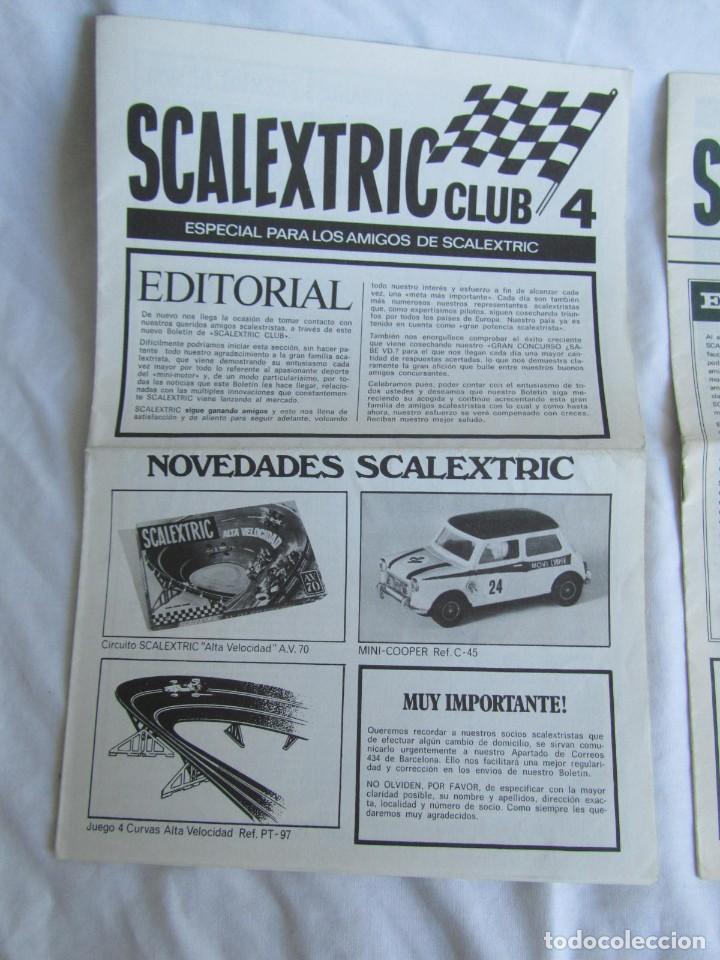 Scalextric: 3 revistas Scalextric Club nº 4 - 5 - 6 - Foto 2 - 213406820
