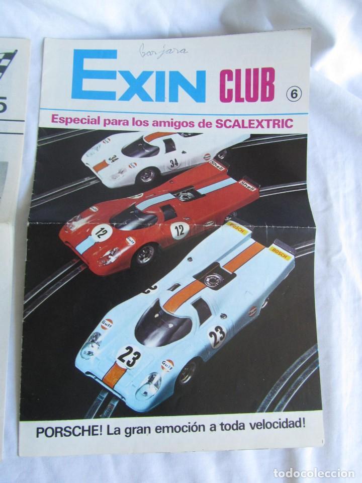 Scalextric: 3 revistas Scalextric Club nº 4 - 5 - 6 - Foto 4 - 213406820