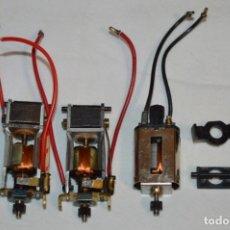 Scalextric: VINTAGE - LOTE 3 MOTORES SCALECTRIC - EXIN ANTINGUOS ORIGINALES - ¡PERFECTOS! EXIN - MADE IN SPAIN. Lote 213642936
