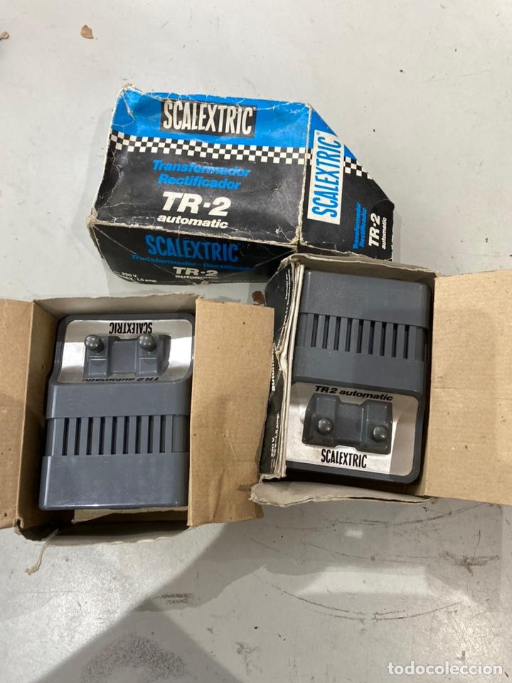 DOS TRANSFORMADORES SCALEXTIC FUNCIONAN . VER FOTOS (Juguetes - Slot Cars - Scalextric Pistas y Accesorios)