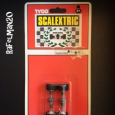 Scalextric: SCALEXTRIC TYCO - BLISTER 2 EJES CON CORONA GRIS - TOYOTA CELICA. Lote 214385800