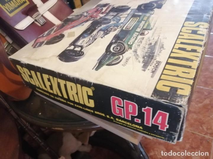 Scalextric: SCALEXTRIC - GP 14 - INTERNATIONAL MODEL MOTOR RACING - COMPLETA - SIN COCHES - Foto 3 - 215705303