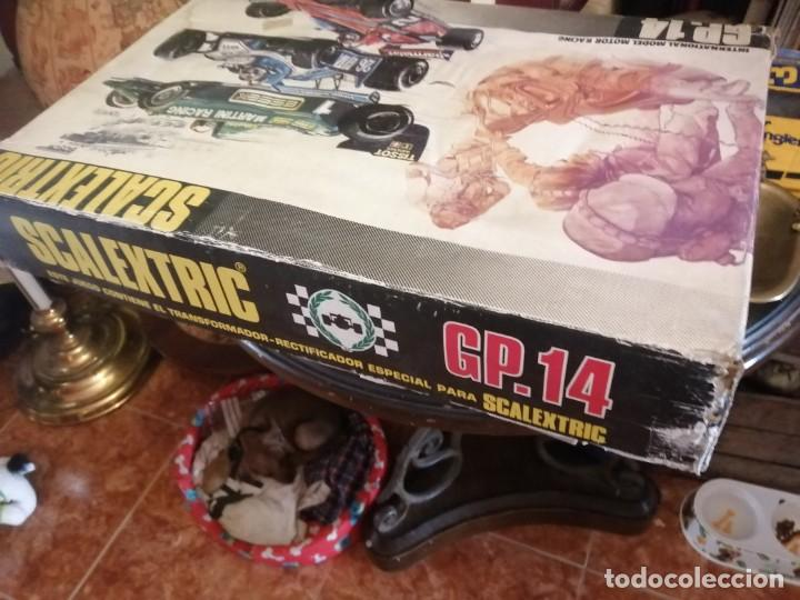 Scalextric: SCALEXTRIC - GP 14 - INTERNATIONAL MODEL MOTOR RACING - COMPLETA - SIN COCHES - Foto 6 - 215705303
