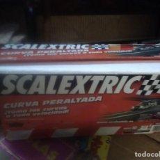 Scalextric: CURVA PERALTADA SCALEXTRIC TECNITOYS REF.8868. FALTA 1 SOPORTE COMO NUEVO. Lote 216961118