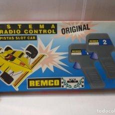 Scalextric: RADIO CONTROL VELOCIDAD REMCO EN CAJA ORIGINAL SIN USO. Lote 217854385