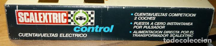 Scalextric: CUENTAVUELTAS ELECTRICO SCALEXTRIC - Foto 5 - 104727119
