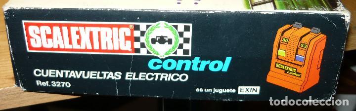 Scalextric: CUENTAVUELTAS ELECTRICO SCALEXTRIC - Foto 6 - 104727119