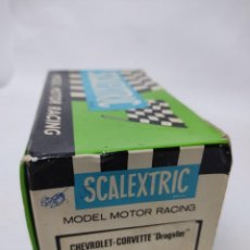 Scalextric: CAJA VACIA SCALEXTRIC.CHEVROLET CORVETTE DRAGSTER. MODEL MOTOR RACING.REF 4050.. Lote 218914871