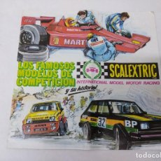 Scalextric: SCALEXTRIC EXIN CATALOGO MODELOS 1982. Lote 218915992