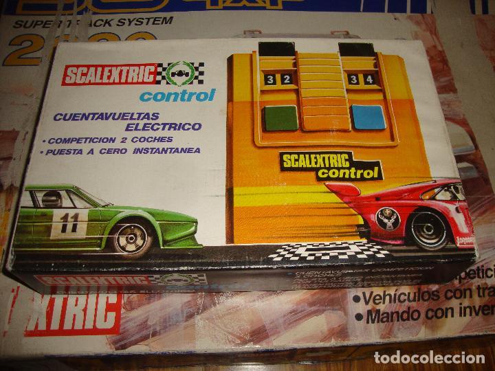 CAJA SCALEXTRIC CONTAVUELTAS ELECTRICO REF 3270 (Juguetes - Slot Cars - Scalextric Pistas y Accesorios)