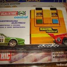 Scalextric: CAJA SCALEXTRIC CONTAVUELTAS ELECTRICO REF 3270. Lote 222046421