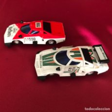Scalextric: 2 COCHES PARA PISTA TIPO SCALEXTRIC. Lote 222355010