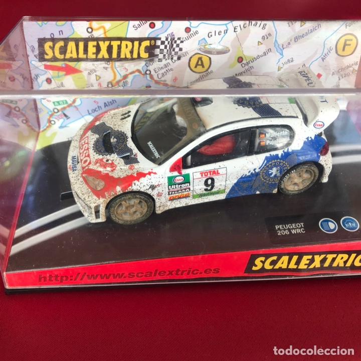 COCHE SCALEXTRIC NUEVO EN CAJA PEUGEOT 206 (Juguetes - Slot Cars - Scalextric Pistas y Accesorios)
