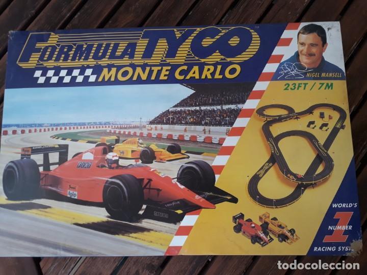 FORMULA TYCO MONTECARLO (Juguetes - Slot Cars - Scalextric Pistas y Accesorios)