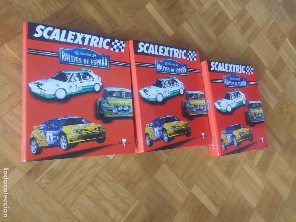 SCALEXTRIC RALLYES DE ESPAÑA 3 TOMOS (Juguetes - Slot Cars - Scalextric Pistas y Accesorios)