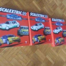 Scalextric: SCALEXTRIC RALLYES DE ESPAÑA 3 TOMOS. Lote 223591061