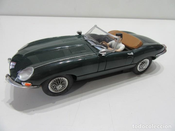 JAGUAR E-TYPE 1961 VERDE CABRIOLET CARRERA EXCLUSIV REF: 20485 ANALOGICO SLOT 1/24 (Juguetes - Slot Cars - Scalextric Pistas y Accesorios)