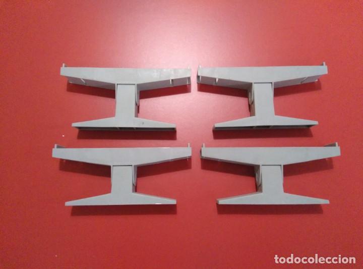 X4 ELEVADORES PUENTE SCALEXTRIC (Juguetes - Slot Cars - Scalextric Pistas y Accesorios)