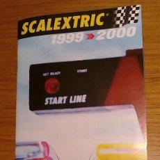 Scalextric: CATÁLOGO SCALEXTRIC 1999-2000. Lote 228485595