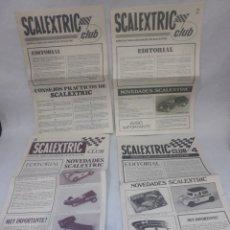Scalextric: REVISTAS EXIN SCALEXTRIC CLUB NÚMEROS 1 , 2 , 3 Y 4. Lote 228752530