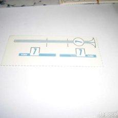 Scalextric: CALCAS AL AGUA DE FORD GT BANDA AZUL Nº 7 DE SCALEXTRIC EXIN. Lote 231318515
