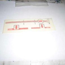 Scalextric: CALCAS AL AGUA DE FORD GT BANDA ROJA Nº 6 DE SCALEXTRIC EXIN. Lote 261198090