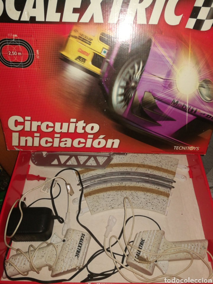SCALEXTRIC CIRCUITO INICIACION (Juguetes - Slot Cars - Scalextric Pistas y Accesorios)