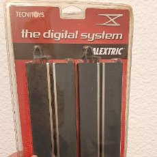 Scalextric: 4 TRAMOS BLISTER SCALEXTRIC DIGITAL SYSTEM REF 2020 RECTA 360 MM CARRIL INDIVIDUAL. Lote 232628610