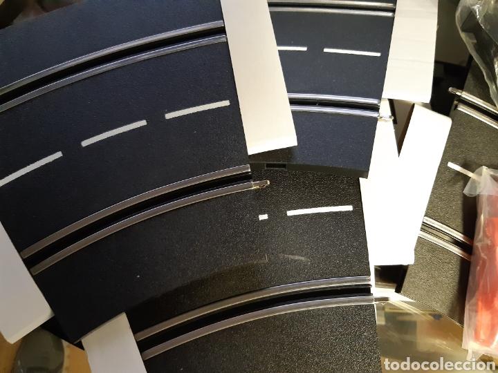 Scalextric: PISTAS CURVAS INCLINADAS CON APOYOS 1/30 CARRERA SCALEXTRIC.NUEVAS A ESTRENAR - Foto 6 - 236915115