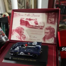 Scalextric: LOTE 2 COCHES COLECCIONABLES ( GT FERRARI 330 SCALEXTRIC,1 PORSCHE 908 FLUNDER FLY). Lote 237397815