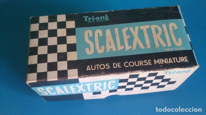 CAJA VACIA VANWALL C55 SCALEXTRIC TRI-ANG (Juguetes - Slot Cars - Scalextric Pistas y Accesorios)