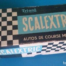 Scalextric: CAJA VACIA VANWALL C55 SCALEXTRIC TRI-ANG. Lote 237906305