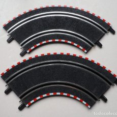 Scalextric: LOTE DE 2 CURVAS GRANDES SCALEXTRIC COMPACT MOTO GP. Lote 238505245
