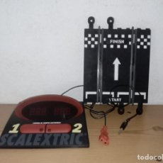 Scalextric: CONTROL DE TIEMPOS ELECTRONICO SCALEXTRIC TECNITOYS. Lote 239807320