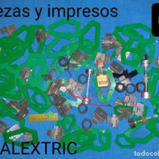 Scalextric: SCALEXTRIC LOTE 63 - PIEZAS CIRCUITO COCHES E IMPRESOS. Lote 242362680