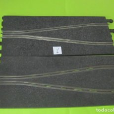 Scalextric: CHICANE PEQUEÑA,2 TRAMOS PISTA, POR 1 € SUBASTA,LOTE 1. Lote 242988180