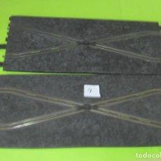 Scalextric: CAMBIO DE PISTA,2 TRAMOS , POR 1 € SUBASTA,LOTE 9. Lote 242990020