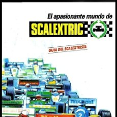 Scalextric: SCALEXTRIC. GUIA DEL SCALEXTRISTA. EXIN. SLOT. CIRCUITOS. COMPLEMENTOS. MODELOS.. Lote 243404220