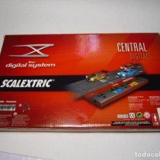Scalextric: CENTRAL DIGITAL SISTEM POWER LINE SCALEXTRIC NUEVA. Lote 244783610
