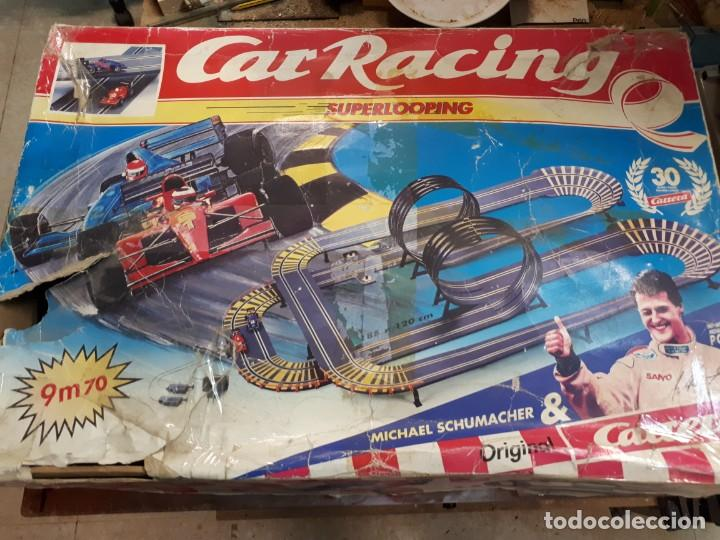 CAR RACING, SUPERLOOPING. (Juguetes - Slot Cars - Scalextric Pistas y Accesorios)
