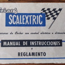 Scalextric: SCALEXTRIC VINTAGE DOCUMENTOS LOTE. Lote 244931905