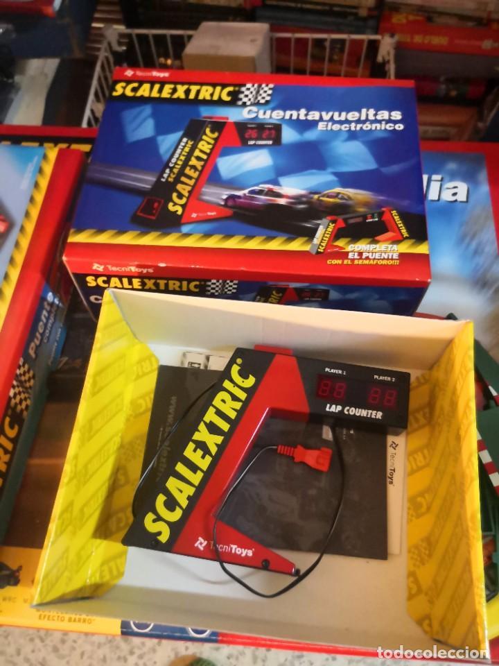 REFERENCIA 8803 SCALEXCTRIC , ACCESORIO , CUENTAVUELTAS ELECTRÓNICO (Juguetes - Slot Cars - Scalextric Pistas y Accesorios)